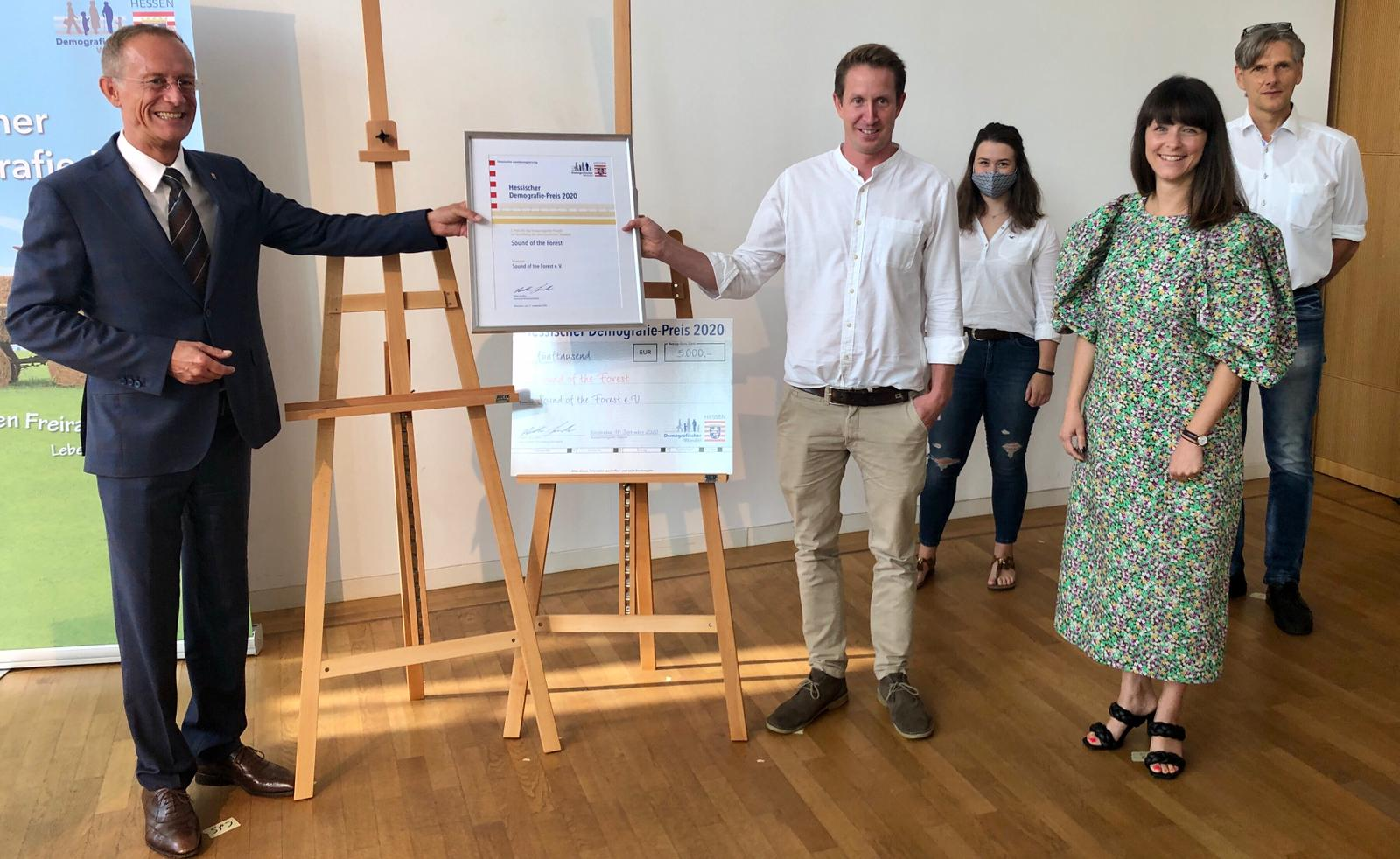 Sound of the Forest wird mit  Hessischem Demografie-Preis ausgezeichnet!